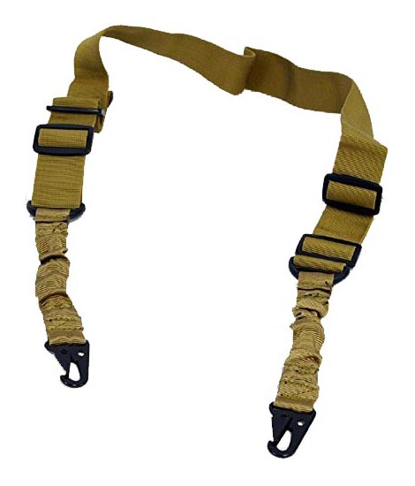 "KTW 1.5"" Tactical Two-Point Sling - Tan"