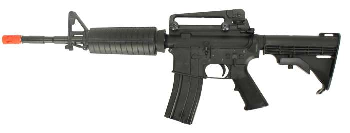 KTW M4 Full Metal Gas Blowback Airsoft Rifle