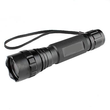 Tactical 5-Mode LED Flashlight Torch w/ Offset Picatinny Mount